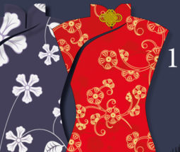 Robes chinoises de style shanghaien