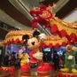 卡通人物耍大龙 Personnages de bandes dessinées jouent avec le dragon