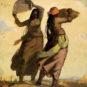 ZHU Naizheng, Saison d'or, Année 1962, Huile sur toile 朱乃正 金色的季节 1962年 油画 布面