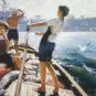HE An, Le Matin de Xisha, Année 1979, Huile sur toile 何岸 西沙之晨 1979年 油画 布面