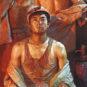 GUANG Tingbo, Acier fondu · Sueur, Année 1981, Huile sur toile 广廷渤 钢水·汗水 1981年 油画 布面