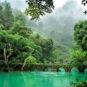 Patrimoine naturel mondial – Rivière Zhang de Libo, zone de paysage exceptionnel nationale 世界自然遗产——荔波樟江国家级风景名胜区