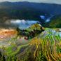 Champs en terrasses de Jiabang, Congjiang 从江加榜梯田