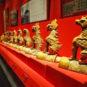 故宫太和殿上的脊兽 Ornements zoomorphiques sur les tuiles du pavillon de l'Harmonie suprême