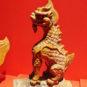 龙 Figures et animaux ornementaux sur les tuiles du pavillon de l'Harmonie suprême - Dragon (symbole du pouvoir impérial)