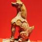 海马 Figures et animaux ornementaux sur les tuiles du pavillon de l'Harmonie suprême - Cheval marin (symbole de la bienveillance des règles du pouvoir)