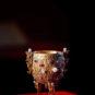 清 金嵌珠石金瓯永固杯 Coupe d'or incrustée de perles et de bijoux - Souveraineté éternelle, dynastie Qing