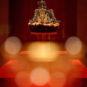 清 貂皮金凤嵌珠宝皇后冬朝冠 Chapeau d'hiver de cérémonie à la cour de la reine en fourrure de zibeline, incrusté de perles et de bijoux, dynastie Qing