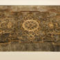 清 符望阁南间描金银漆纱 Gaze laquée peinte en or et argent de la fenêtre dans la chambre donnant au sud de la Tour de Fuwangge, Dynastie Qing