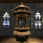 清 请神位龙亭 Pavillon du dragon porteur de la tablette ancestrale, dynastie Qing
