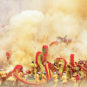 Festival du dragon poilu de l'ethnie Gelao 仡佬族毛龙节