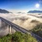 Pont géant de Hezhang de l'autoroute Bi-Wei 毕威高速赫章特大桥