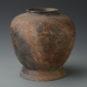1.刻符陶罐3 Vase guan 罐 à motif gravé en poterie