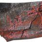 1.卞家山漆绘残器盖 Fragment de couvercle laqué, fouilles de Bianjiashan