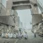 大连造船厂晨会 - 史春 - 辽宁大连 Réunion matinale du chantier naval de Dalian (Dalian, province du Liaoning)