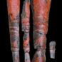 2.卞家山漆觚残片2 Fragments de vase gu 觚 laqué, fouilles de Bianjiashan