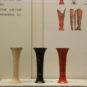 3.卞家山漆觚复原 Reproduction de vase gu 觚 laqué, fouilles de Bianjiashan