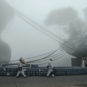 雾锁船厂 - 史春 - 辽宁大连 Chantier naval dans le brouillard (Dalian, province du Liaoning)