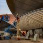 建设北京大兴国际机场 - 王娟 - 北京 Construction de l'aéroport international de Pékin-Daxing ©️Wang Juan (Pékin)