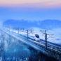 穿越林海 - 刘慎库 - 长吉城际铁路关家沟 Traverser la «mer» des bois ©️Liu Shenku (Voie ferrée Intercité Changchun-Jilin, Guanjiagou, province du Jilin)