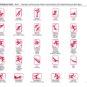 冬奥冬残图标中文 Pictogrammes des sports (chinois)