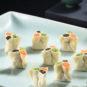 三色小饺Petits raviolis de Huaiyang tri-colores