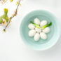 灌蟹鱼圆Boulettes de poisson blanc mélangées avec de la chair de crabe