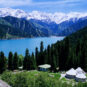 2.天山天池 Lac Tianchi des Monts Célestes Tianshan