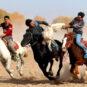 4.巴楚活动-叼羊 Activités du district de Maralbexi – Course d'attrapage des moutons