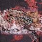 07 东回廊漆棺内出土琉璃棋子 Pièces de jeu vernies exhumées d'un cercueil laqué du couloir Est