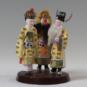 10 访普 陈钢 龚琦 12×12×17cm 中国美术馆藏 « Rendre visite à Pu » Chen Gang, Gong Qi, 12 x 12 x17 cm, collection du Musée d'art national de Chine