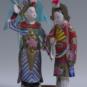 11 回荆州 王国栋、张小权 1985年 10×12×18cm 彩塑 中国美术馆藏 « Retour à Jingzhou » Wang Guodong, Zhang Xiaoquan, 1985, 10 x 12 x 18 cm, sculpture polychrome, collection du Musée d'art national de Chine