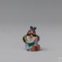 19 李逵 柳成荫 20世纪60年代 高3.5cm 彩塑 中国美术馆藏 « Li Kui » Liu Chengyin, années 1960, H 3,5 cm, sculpture polychrome, collection du Musée d'art national de Chine