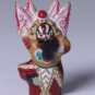 23 赵匡胤 王木东 1990年 高7cm 彩塑 中国美术馆藏 « Zhao Kuangyin » Wang Mudong, 1990, H 7 cm, sculpture polychrome, collection du Musée d'art national de Chine