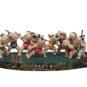 25 放爆竹 王国栋 2000年 37×22×15cm 彩塑 中国美术馆藏 « Lancer des pétards » Wang Guodong, 2000, 37 x 22 x15 cm, sculpture polychrome, collection du Musée d'art national de Chine