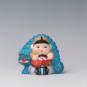 26 福童 沈大授、郁纪红 20世纪90年代 14×7×13cm 彩塑 中国美术馆藏 « Enfant du bonheur » Shen Dashou, Yu Jihong, années 1990, 14 x 7 x 13 cm, sculpture polychrome, collection du Musée d'art national de Chine