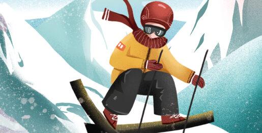 冰雪互动体验去元素