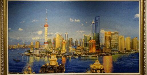 11、浦东新貌 Nouveau visage de Pudong 汪振男:中国 Wang Zhennan:Chine